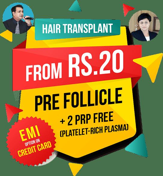 Sai Cosmetics - Hair Transplant offer